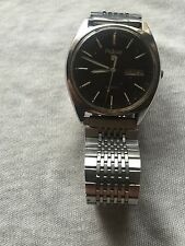 Vintage Pulsar Men's Silver Tone Day & Date Quartz Watch