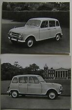 Renault 4 Two Press Photographs from late 1967 or 1968