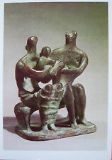 1 AK Kunstkarte von Henry Moore Maquette for a Family Group 1945   FE