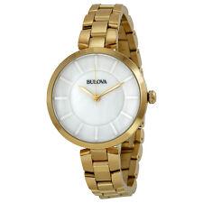 Bulova Gold-tone Ladies Watch 97L142-AU
