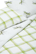 NEXT Bedding – Cotton Rich Butterfly & Green Check Bed Set, King size