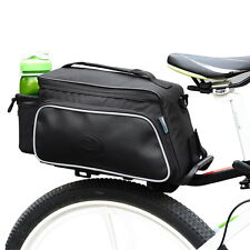 Cycling Bicycle Bag Bike Pannier Rear Rack Pack Tail Seat Trunk Double Pannier