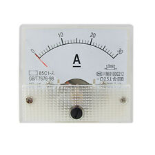 85C1 Analog Current Panel Meter DC 30A AMP Amperemeter GY