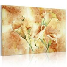 Unframed Modern Large Calla Lily Floral Flower Wall Art Print Picture On Canvas