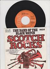 """7"""" THE BAND OF BLACK WATCH Scotch On The Rocks b/w Let's Go To Jersey RCA D 1975"""