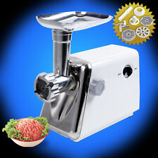 1200W ELECTRIC MEAT GRINDER STAINLESS STEEL SAUSAGE FILLER MINCER MAKEER