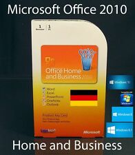 Microsoft Office Home and Business 2010 Vollversion Box PKC Word Excel Outlook