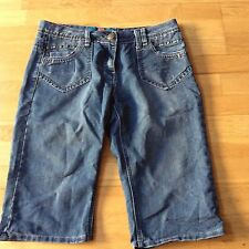 TU, blue, size 12 denim shorts. New without tags