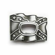 Belt Buckle, Buckle for Change belt Bottle opener Flag