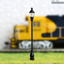 10 x OO / HO gauge Model Railway train Lamp posts Led street light Lamps #AD60S