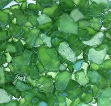 SEEGLAS, Glasscherben, Mosaikglas, Glas- Bruch. Ca 20-50mm 1 kg Farbe GRÜN