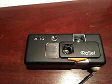 Rollei  A110 Film Camera With Tessar F23mm 2.8 Lens