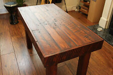 Eco Reclaimed Home Vintage Wood Coffee Table Tea Table Pallets Timber Rustic