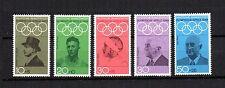 BRD 1968 Motive Nr. 561 - 565 ** Olympische Spiele - postfrisch