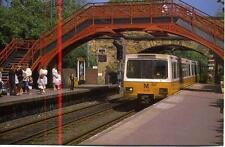 South Gosforth Station Tyne & Wear Metro 1990s postcard