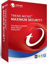 Trend Micro Titanium Maximum Security 2016  1 Year 3 PC, Windows 7,8,10, MAC