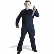 ADULT MENS MICHAEL MIKE MYERS 1, 2 and 4 HALLOWEEN FANCY DRESS COSTUME- STANDARD