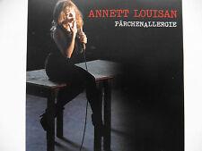 "Annett Louisan ""Pärchenallergie"" ultra rare 5"" Promo Maxi-CD mit 1 Track 2011"