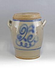 Keramik Großer Vorratstopf mit Deckel Westerwald 25445054