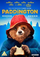 Paddington 2015 DVD - Bear Tale Kids Children - NEW