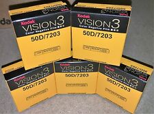 5 Rolls Kodak V3 Super 8mm Colour Negative Film 50D 7203 Official Reseller