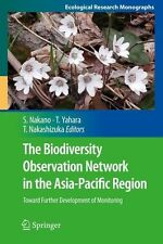 The Biodiversity Observation Network in the Asia Pacific Region 9784431540311