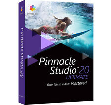 NEU !! Pinnacle Studio 20 Ultimate DVD Version Deutsch