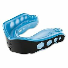 Shock Doctor Gel Max Mouth Guard Gum Piece Convertible - Blue/Black - Adult