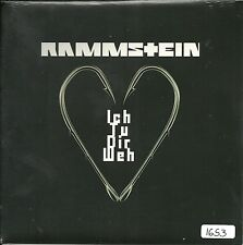 "Rammstein - Ich tu Dir weh  UK 7"" red etched Vinyl  numm Edition  No 916 OVP"
