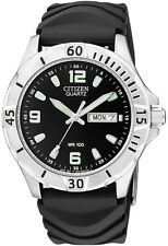 Citizen Mens BK4070-06E. Stainless Steel Quartz Watch with a Date Function.