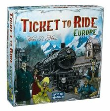 Ticket to Ride Europe Board Game - Brand New