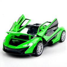 Model Toy 1/32 Diecast Car Collection Alloy Gift Green McLaren P1 w/light&sound