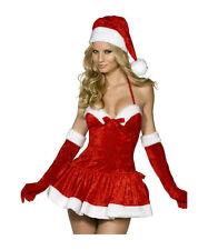 Suzana Germany hochwertiges Weihnachtskostüm incl. Mütze S-L Dessous Kleid 25001