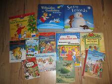Bücherpaket Weihnachten 12 x Bilderbücher  Die kleine Hexe feiert Weihnachten