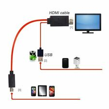 2M MHL USB to HDMI HDTV Adapter Cable for Samsung Galaxy S5/S3/S4 Note2/3 Tab 3
