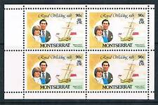 Montserrat 1981 Royal Wedding Booklet Pane SG 517a MNH
