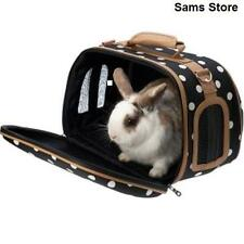 Pet Carrier Small Animals Stylish Travel Rabbits Guinea Pigs Kittens Puppy Rats