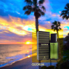 """""""Quorum"""" 100ml EDT Men's Cologne After Shave By Antonio Puig From Spain New"""