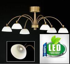 Honsel 20046 Julie LED Deckenleuchte Deckenlampe Lampe Leuchte LED antik messing