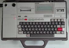 EPSON HX-20 Computer + Expansion Unit + Koffer | Laptop | Feuerleitrechner BW