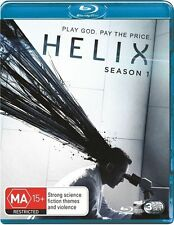 Helix : Season 1 (Blu-ray, 2014, 3-Disc Set) NEW