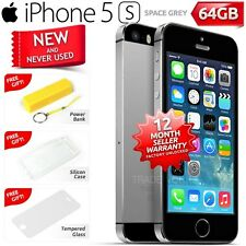New in Sealed Box Factory Unlocked APPLE iPhone 5S Space Grey 64GB 4G Smartphone