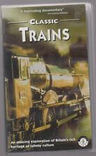 Classic Trains (VHS, 1999) ~ Railway Video ~ Highlights Of Channel 4 TV Series