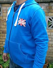 Brand new Cobalt blue LAMBRETTA hooded sweatshirt TRACKSUIT TOP size XL