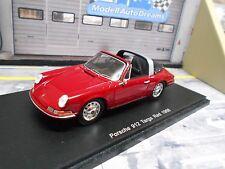 PORSCHE 911 912 Targa rot red 1968 Resin Highend Spark 1:43