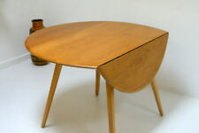 Ercol Drop Leaf Dining Table. Solid Elm Wood. 1960s. Fully Restored Condition.