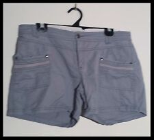 Womens shorts size 14 Just Jeans light blue cargo cotton shorts casual shorts
