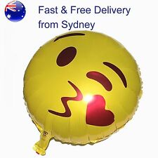 Party emoji kissing balloon- Valentine Favourite - Smooch throwing face
