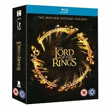 "LORD OF THE RINGS TRILOGY 6 DISC BOX SET BLU-RAY REGION B ""NEW&SEALED"""