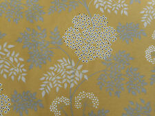 Sanderson Curtain Fabric 'Cowparsley' Chinese Yellow 4.3 METRES - 100% Cotton